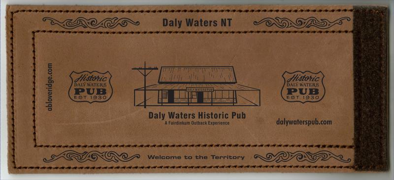 Daly Waters Pub Stubby Holder - Northern Territory