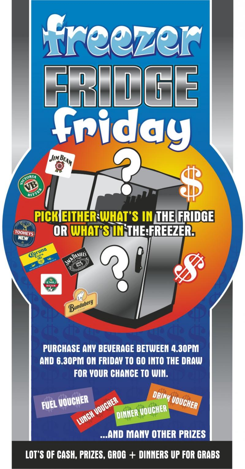 Freezer Fridge Friday Promotions